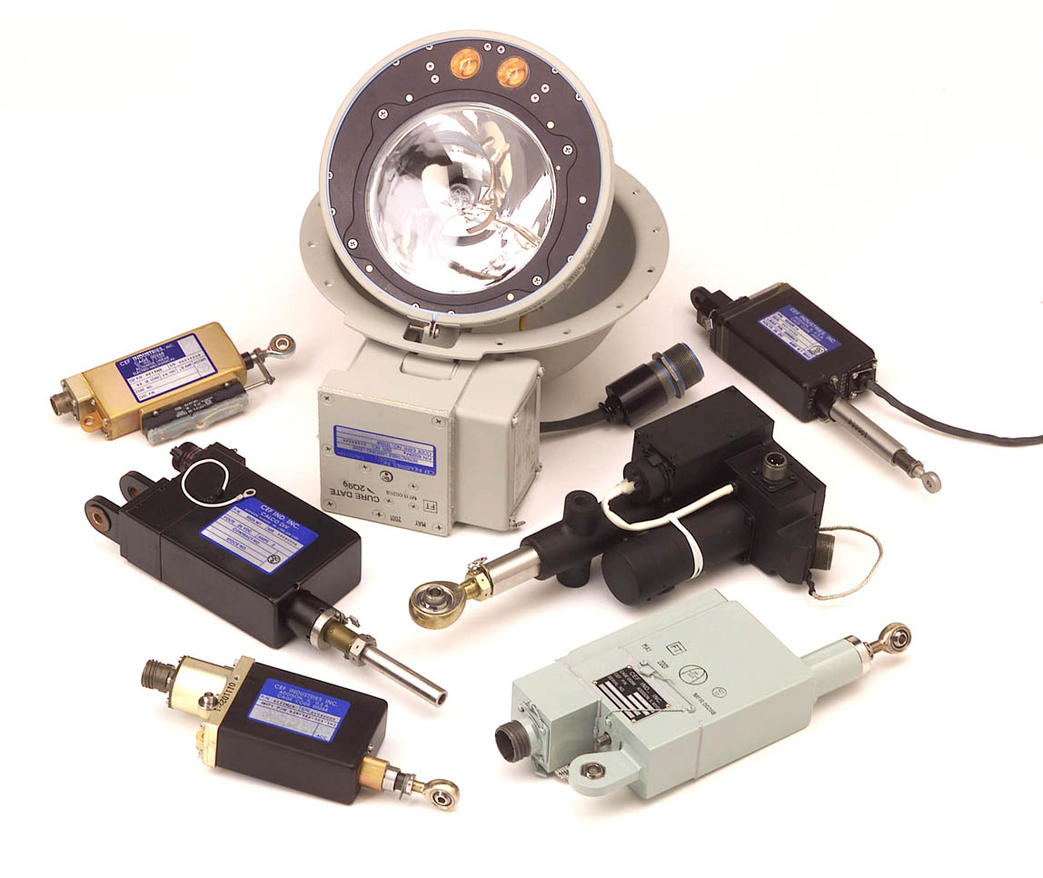 Electro-mechanical Actuators & Actuated Landing Light